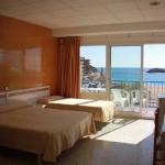 Surplombant la plage Platja Gran de Tossa de Mar, le Rovira propose des chambres modernes avec balcon et vue sur la mer Méditerranée. Il dispose d'un bar grotte étonnant doté d'une grande télévision à écran plat.