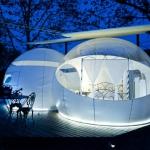 Proposant des chambres-bulles en extérieur, idéales pour observer des étoiles, le Mil Estrelles se trouve à Cornellà de Terri. Situé au bord de la rivière Terri et à 10 minutes du lac de Banyoles, l'hôtel comporte un restaurant.