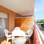 Apartment porta 108 escalera B Lloret De Mar is a 2-room apartment with an exit to a balcony. The apartment has a living/dining room, kitchenette, bathroom and a terrace with terrace furniture.
