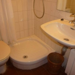 This apartment is in a very convenient position. It is just 100 metres from the beach.