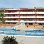 Situé à 400 mètres de la plage de L'Estartit, l'Apartamentos familiares Sa Gavina Gaudí possède une piscine extérieure avec un toboggan. Tous les appartements disposent d'un balcon privé avec vue sur la rue.