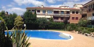Situé à 15 minutes à pied de la plage de Palamós, l'Edifici Mediterrànea possède un jardin, une terrasse privée et meublée, ainsi qu'une piscine extérieure commune. Vous serez à 45 km de Gérone.