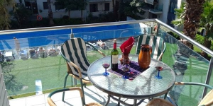 Located in Lloret de Mar, Angela Residence offers an outdoor pool and a fitness centre. The property is 2.