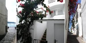 L'établissement Es Portitxó de Cadaqués propose une terrasse meublée avec vue sur la mer et sur la ville. Situé à Cadaqués, cet appartement plein de charme se trouve à 700mètres de la maison de Salvador Dalí.